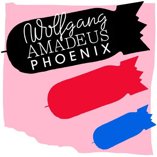 """Wolfgang Amadeus"". Phoenix. Album art. Illustration by Jody Barton. Art Direction/Design by Laurent Brancowitz."