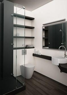 ideeën voor mini badkamer - Google zoeken