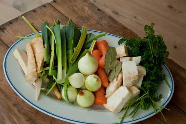 Suppe grøntsager