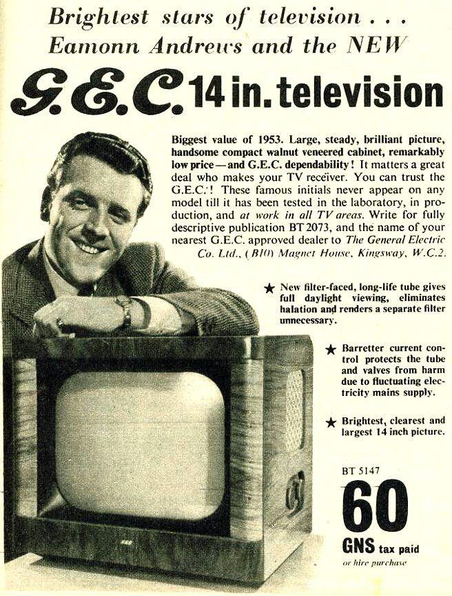 Vintage G.E.C TV Ad