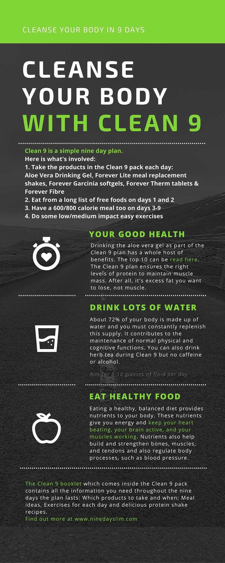 How Clean 9 works - hope you find it useful! #Cleanse #LoseWeightFast everything you need to start your Weight Management Programme #stylenovi