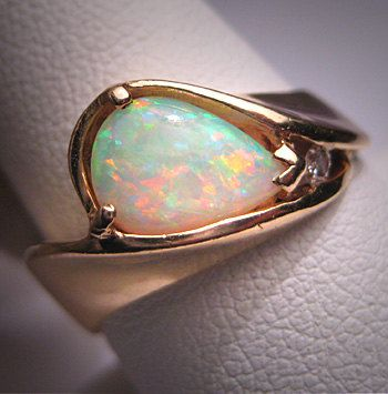 Best 25 Australian opal rings ideas on Pinterest