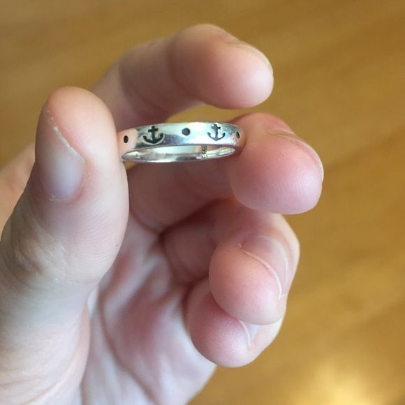 James Avery Anchor Ring Very good condition!! James Avery Jewelry Rings