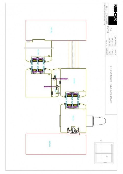 Tür detail grundriss  Schnitt horizontal Schiebetür | ENTWURF | Pinterest | Fenster holz ...