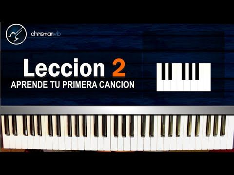 Como tocar Piano FACIL Y RAPIDO Aprender a tocar Piano Leccion 2 (HD) Tutorial - YouTube
