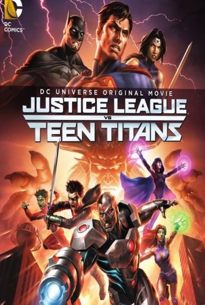 La Ligue des justiciers vs les Teen Titans Streaming