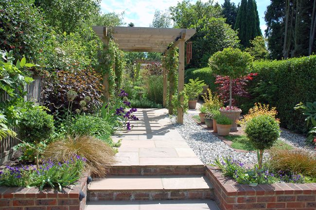 long and narrow garden design - Поиск в Google