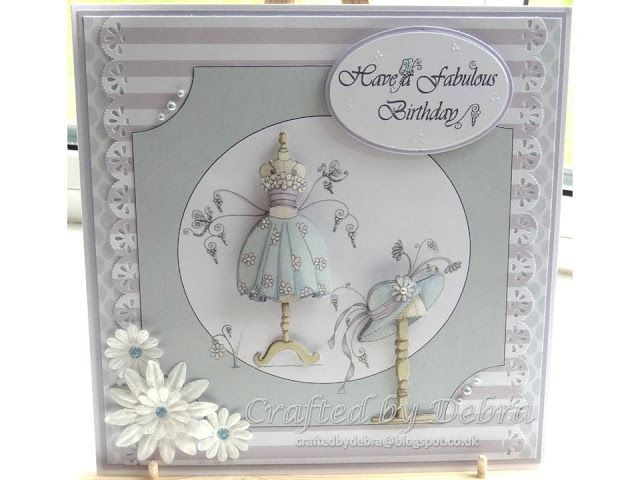This decoupage design is Fabulous Fashion Collection 1 from Katy Sue Designs.