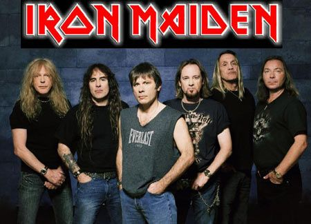Iron Maiden. Name one other band where the lead singer flies the band from concert appearance to concert appearance in his commercial jet. Yeah, I can't think of one either.
