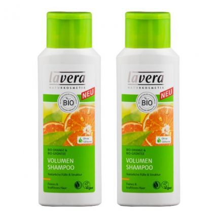 Lavera, Hair pro shampooing volume, lot de 2