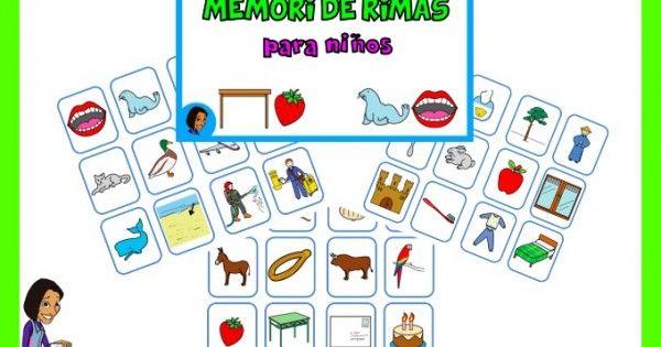 JUEGO DE RIMAS PARA NIÑOS: DESCARGA GRATIS