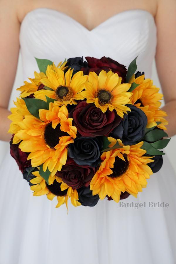 Sunflower And Wine Wedding In 2020 Blue Sunflower Wedding Sunflower Themed Wedding Sunflower Wedding