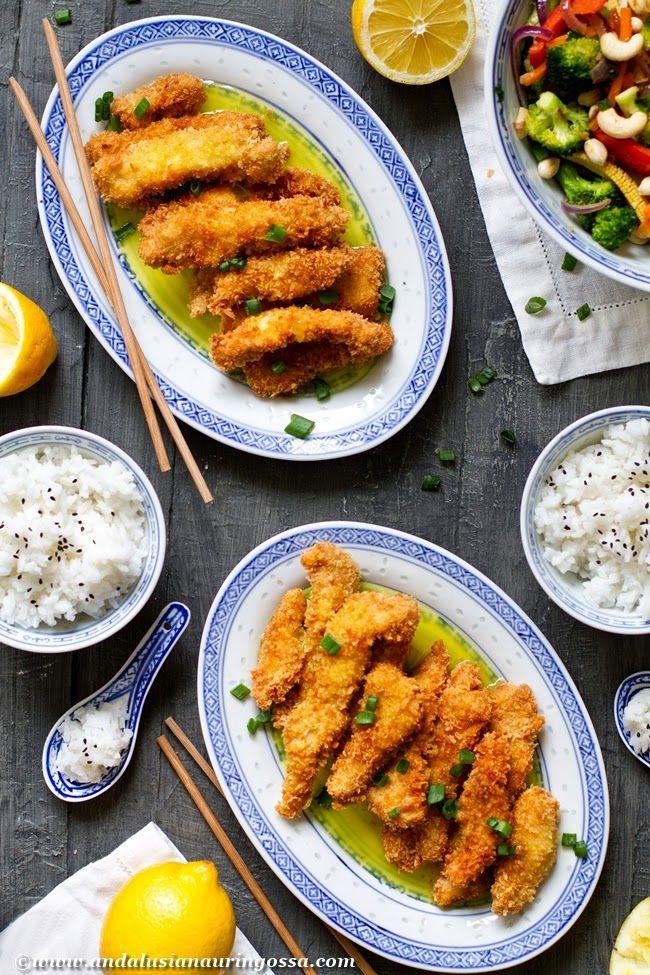 Kiinalaista sitruunakanaa Jyväbroilerista