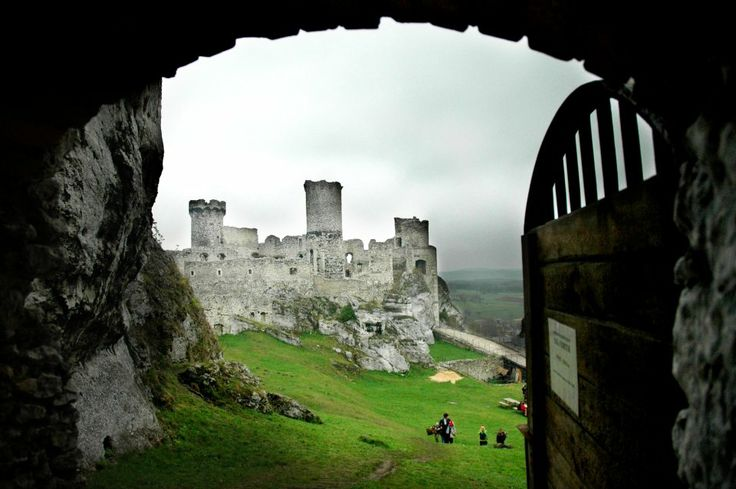 Ogrodzieniec // Do you want to visit Ogrodzieniec? check http://eltours.com/tours-menu/day-trips-from-krakow/eagles-nests-route-medieval-castles-and-jurrasic-caves-el-tours