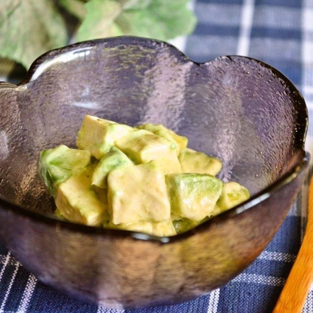 【豆腐の塩レモンピクルスとアボカドサラダ】豆腐のピクルス おいしさ新発見!