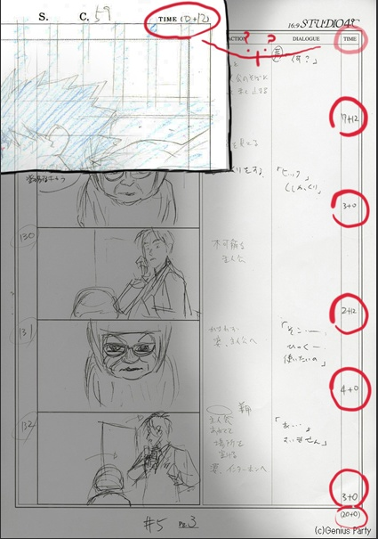40 best 1CGR105 - Storyboard images on Pinterest Storyboard - anime storyboard