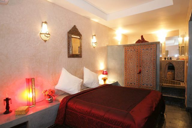 98 m2 modern riad for sale in Marrakech with view on the Mamounia gardens. Morocco, Marruecos, Maroc