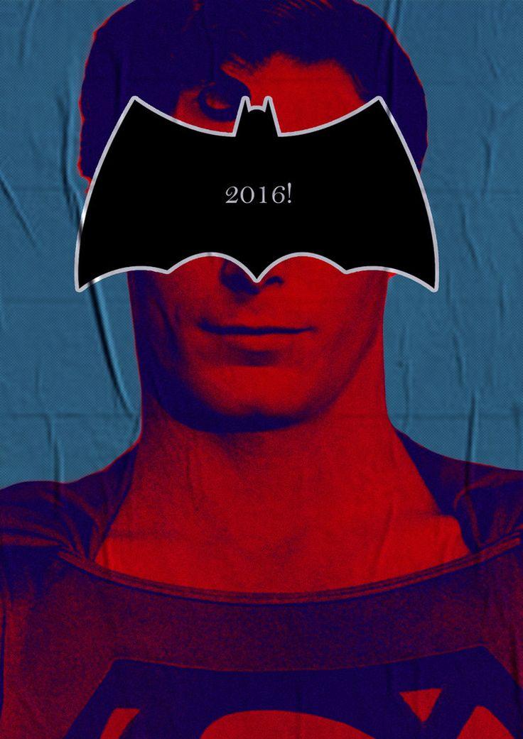 Batman V Superman Teaser Poster Classic Edition