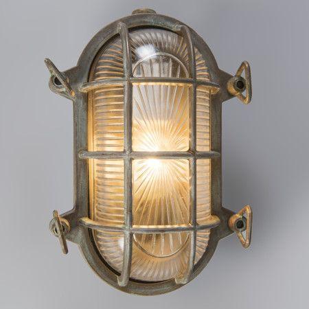 Aplique/plafón NAUTICA 1 ovalado acabado antiguo #iluminacon #decoracion #interiorismo