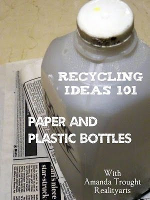 Inspiration, Art and Creativity: Recycled Projects - Are Back! - Crafting a Cup