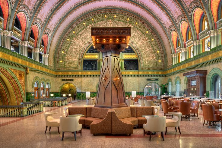 PARIC Corp General contractors worked on the award-winning Union Station. They were awarded the McReynolds Award.