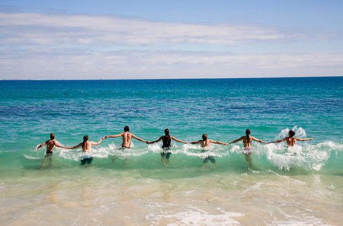 Perth, Australia. Go with friends, find one of many uncrowded beaches, jump in, and heck. Throw a shrimp on the barbie while you're at it. www.TheTripStudio.com