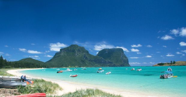 Ned's Beach, Lord Howe Is