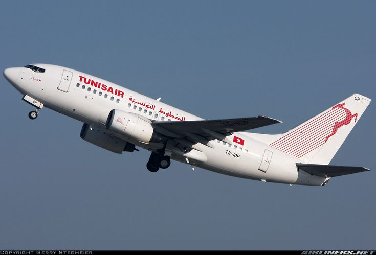 Tunisair TS-IOP Boeing 737-6H3 aircraft picture