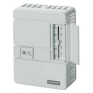 Room Sensor, Setpoint, Override, Beige by Siemens. $153.92. Building Automation Controllers and SensorsSiemens Room Temperature SensorsFor use with APOGEE� and other building automation systems. 6RNT4, 6RNT5, 6RNT6, and 6RNT7 include passkey security. 6RNT4, 6RNT5, 6RNT6, 6RNT7, 6RNU8, 6RNU9, 6RNV0, and 6RNV1 have LCD display. Plug-in terminal port connection 10K ohm NTC thermistor Type II sensorsRoom Temperature Sensor, Series 1000 Sensing With Override,...