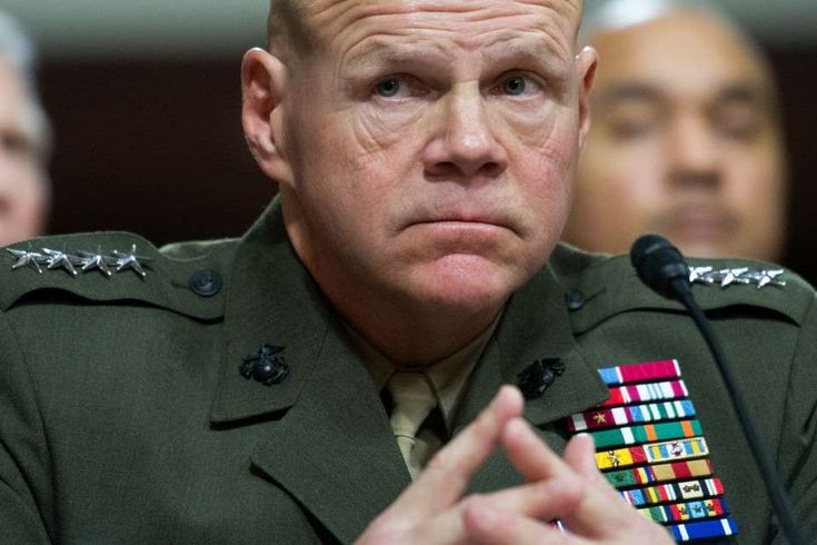 'There's a war coming,' top Marine Corps general tells U.S. troops  -  December 23, 2017.   Gen. Robert Neller, the Marine Corps commandant, testifying on Capitol Hill on Feb. 2, 2016. (Cliff Owen/AP)