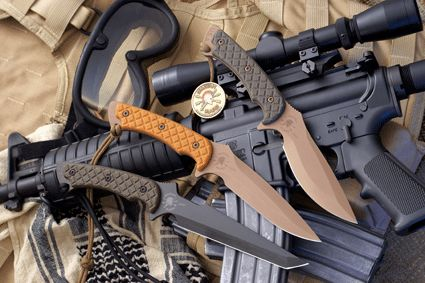 3 Spartan Warriors | Combat Knives Review