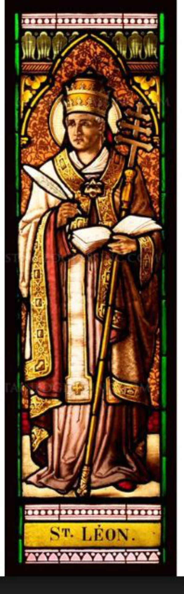 Blessed Memorial of St Leo the Great – November 10 #pinterest #stleothegreat Pope Leo the Great is the first Pope whose sermons and letters, many of which were on faith and charity, were preserved in extensive collections. He served as pontiff from 440.......