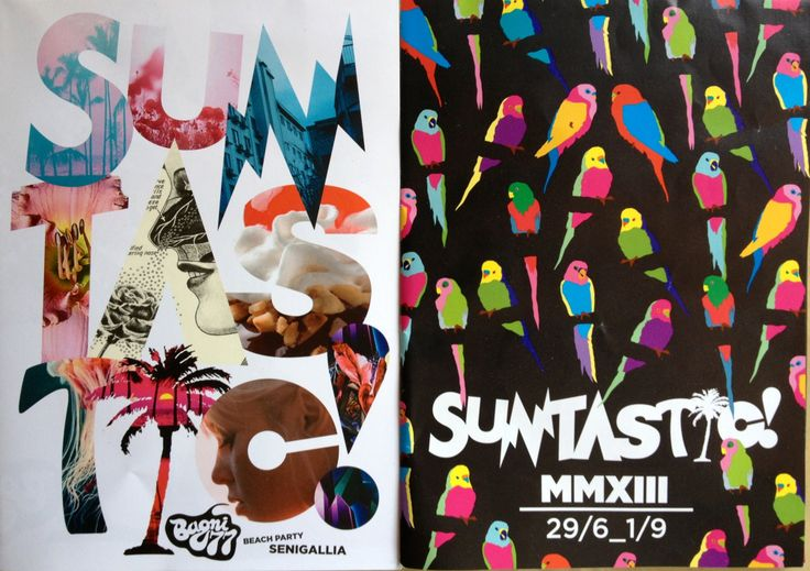 Suntastic Party flyers (2012-2013)!