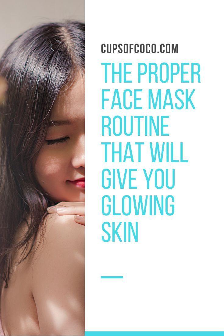 Gesichtspflege Routine Hautpflege Routine Gesichtsmaske # Gesichtsmaske – Supporting Bloggers from FB Threads