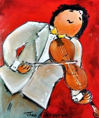 Theo Broeren - De violist