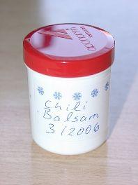 Salbenküche: Chili-Balsam