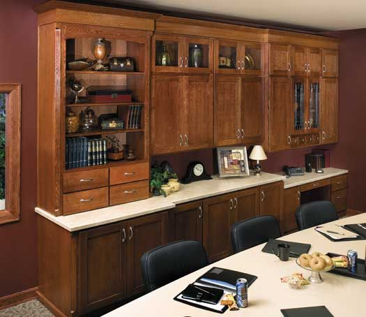 home office cabinetry design. StarMark Cabinetry Farmington Door Style In Quarter Sawn Oak Finished  Nutmeg With Chocolate Glaze 10 Best Home Offices Images On Pinterest Contemporary Home Offices