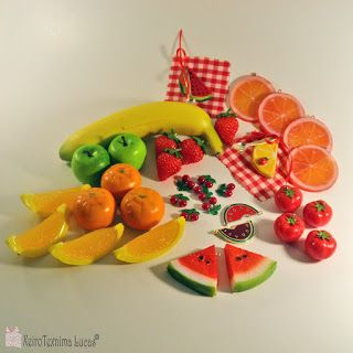 Lucas - Είδη Συσκευασίας: Διακοσμητικά φρουτάκια και λαχανικά κατάλληλα για κατασκευή μπιζού ή άλλες χειροτεχνίες.