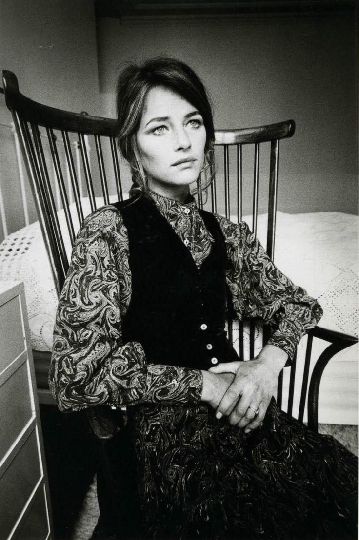 Charlotte Rampling par Jean-Loup Sieff