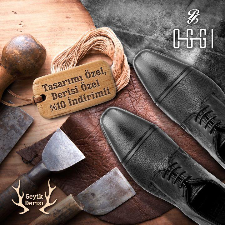 Yumuşak bir dokuya sahip doğal geyik derisinden özenle üretilen yeni sezonun incisi HART modeli %10 indirim fırsatı ile OGGI'de! http://bit.ly/24LavbL