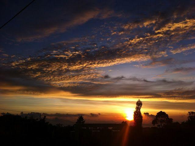 West coast Donggala - Indonesia Sunset