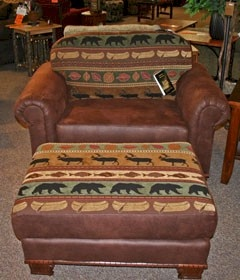 Northern Lodge Chair & Half