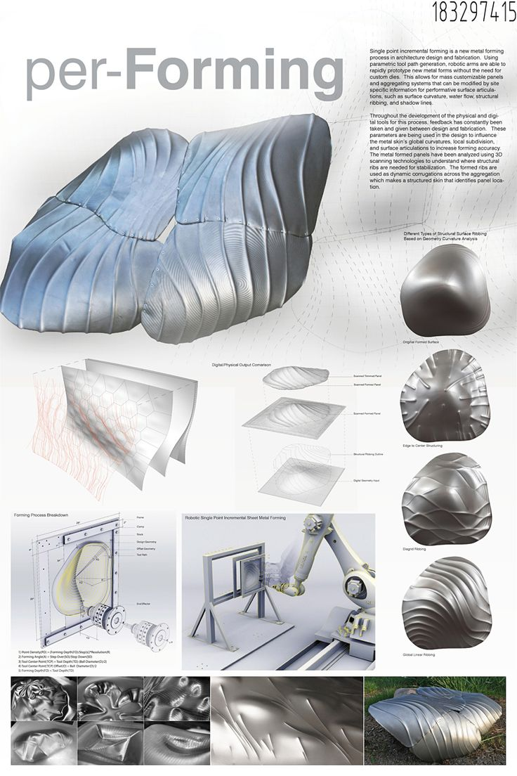 SKIN Digital Fabrication Competition Announces Four Finalists Honorable Mention: per-FORMING by Jake Newsum, Ammar Kalo