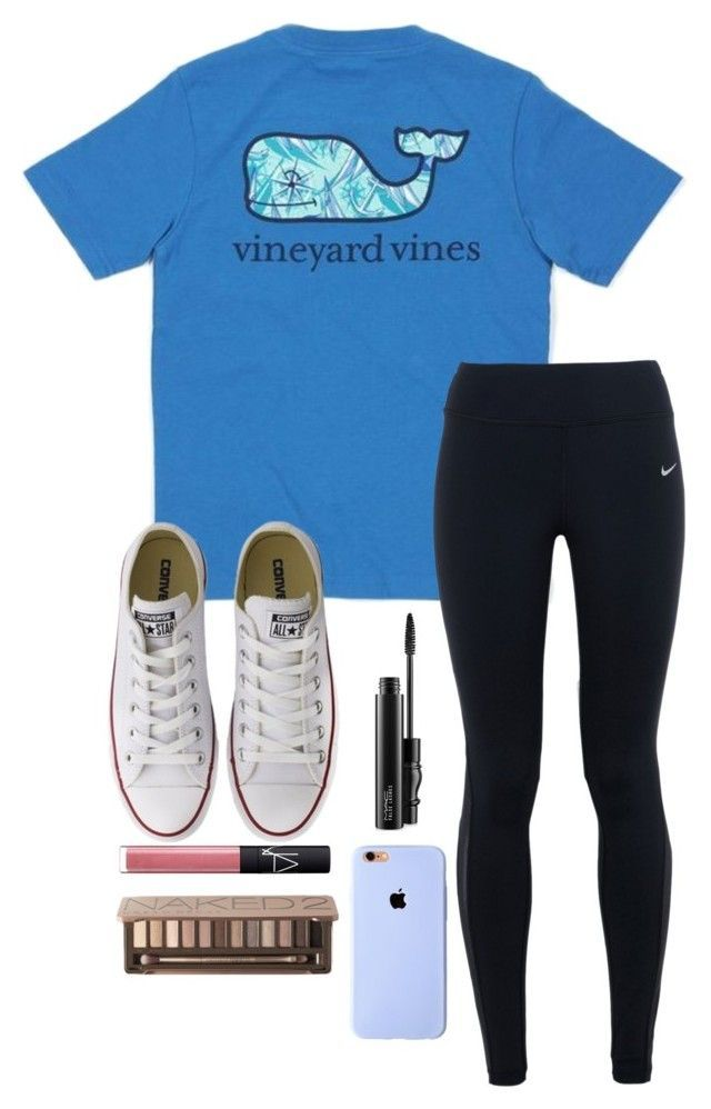 """Vineyard Vines Tag!"" by toonceyb ❤ liked on Polyvore featuring мода, Vineyard Vines, NIKE, Converse, MAC Cosmetics, NARS Cosmetics и Urban Decay"