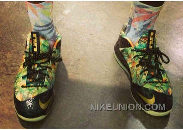 Discount Buy Nike Lebron X P.S Elite Speckle White Black