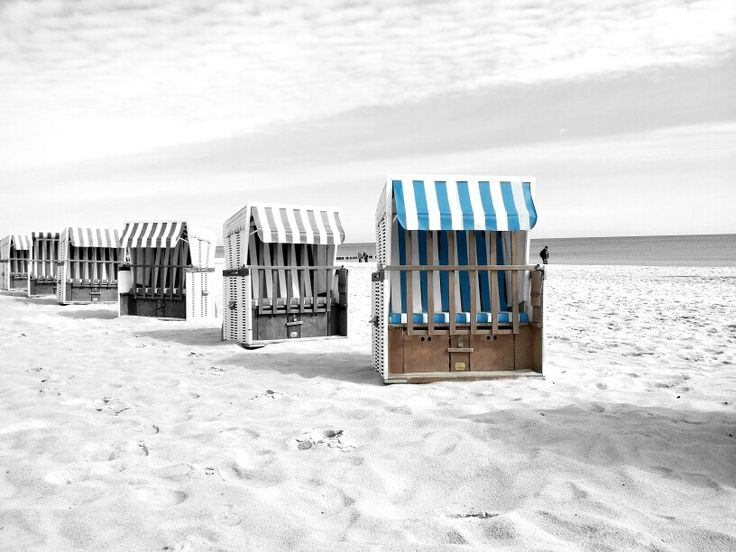 Beach scene on Usedom