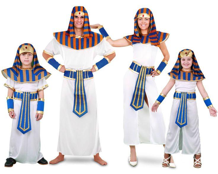 Familia de Faraones #disfraces #carnaval #disfracesparagrupos