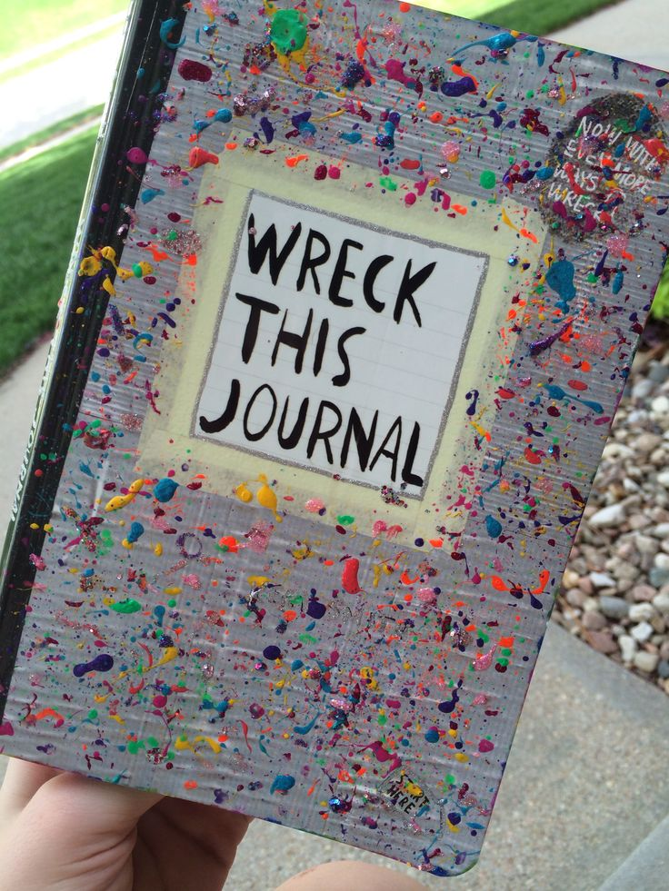 Wreck This Journal Cover 17 Best images about W...