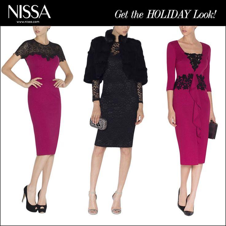 www.nissa.com  #nissa #dress #cocktail #fw2015 #winterwear #model #mood #look #style #fashion #fashionista #holiday #holidaylook
