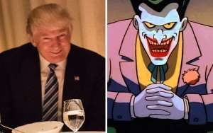 Mark Hamill reads Donald Trump tweet in the Joker's voice